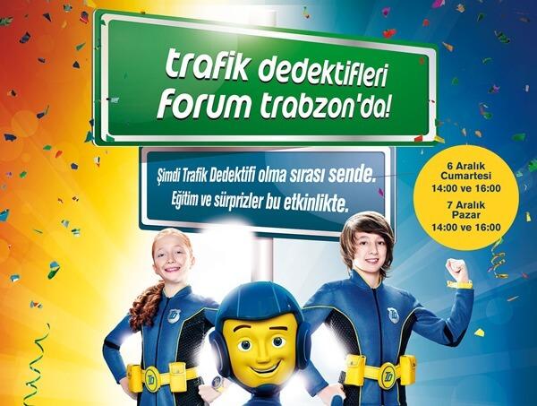 OPET, Forum Trabzon'da Trafik kurallarını öğretecek