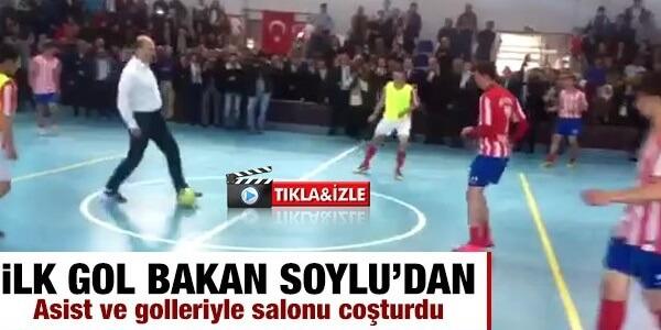 Bakan Soylu, Düzköy'de açılışlara katıldı