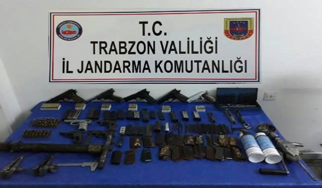 Düzköy'de bir eve silah baskını! Haberi