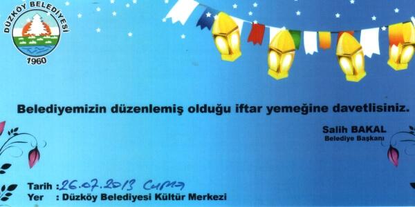 duzkoy_belediye_iftar