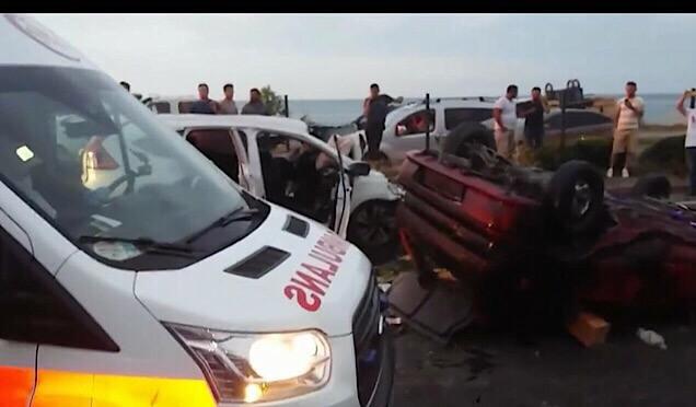 Yomra'da trafik kazası : 3 ölü Haberi