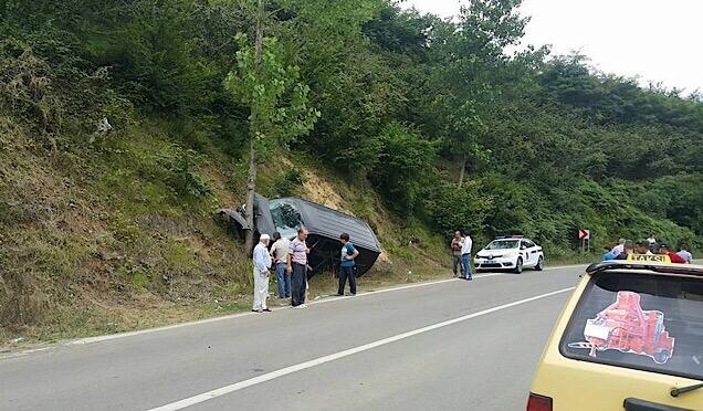 Derecik'te trafik kazası Haberi
