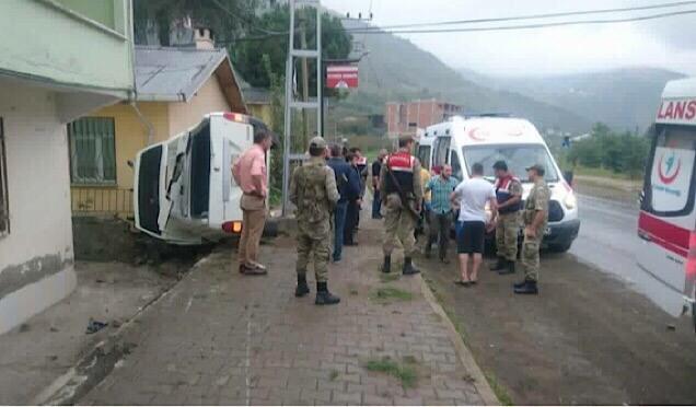 """Halep'e yol açın"" konvoyu Trabzon'dan dualarla uğurlandı haberi"