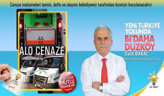 Düzköy'de açık hava iftarı haberi