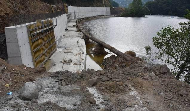 Sera Gölü'ne perde beton yakışmadı Haberi