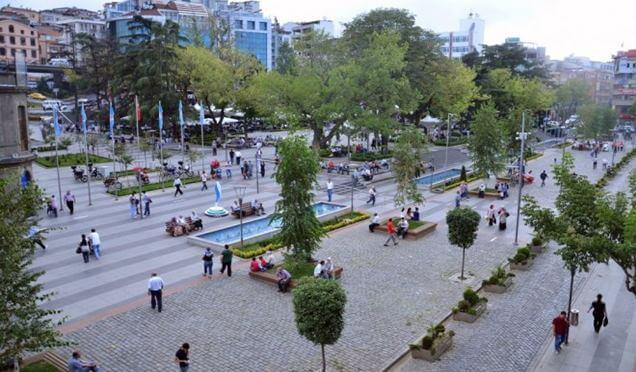 Meydan Parkı ismi değiştirildi